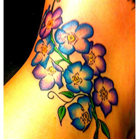 forget me not tattoos gallery forget me nots watercolor
