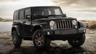 jeep wrangler unlimited 75th anniversary 2016 eu