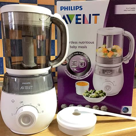 Avent 2 In 1 Steam Blender vanny s telling everything product review philips avent
