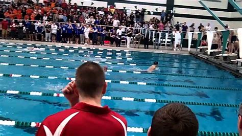 Section 6 Swimming by Section Ii Large School Boys Swimming 200 Yard Medley