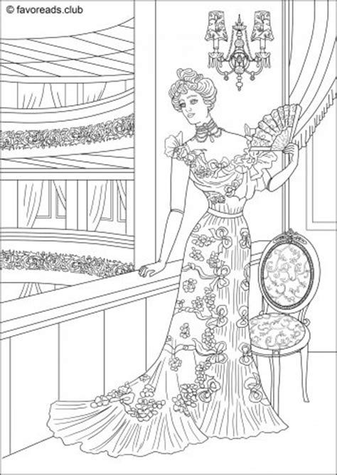 coloring pages for adults victorian free printable coloring pages for adults creative adult