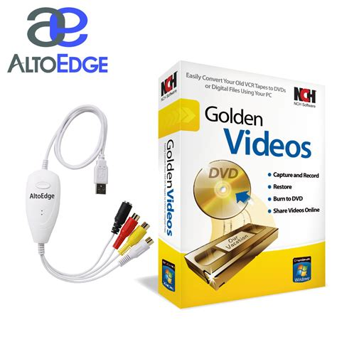 Usb Audio Capture altoedge usb audio capture device w golden software