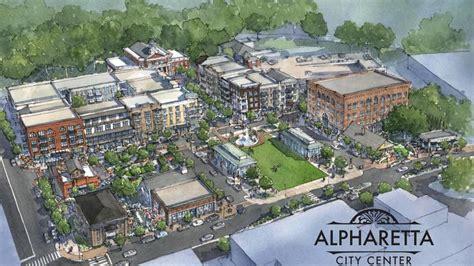 home design center alpharetta alpharetta city center breaks ground reveals more tenants