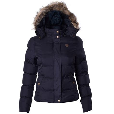 Faux Fur Padded Jacket womens brave soul designer faux fur hooded jacket puffer