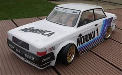 Nqd Rc Car Sedan Turbo Drift Onroad 1 10 Baterai Berkualitas unpainted 1 10 volvo 240 turbo classic a touring car rc 190mm 200mm ebay
