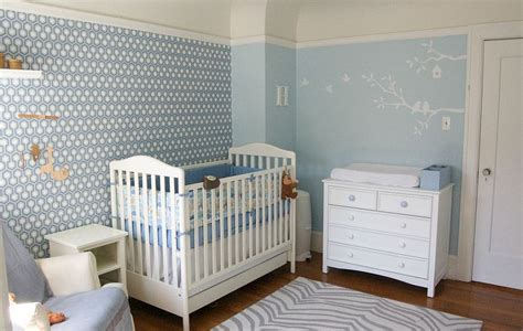 wallpaper for baby bedroom 25 brilliant blue nursery designs that steal the show