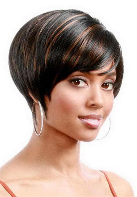 black hairstyles cut in a bob short hairstyles for black women sexy natural haircuts