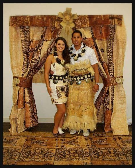 Tongan Wedding. Tongan Tapa (Ngatu) Square Arch by H.Taufa