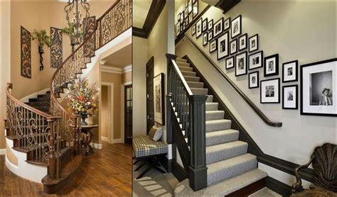 kreatif mendekorasi tangga  mempercantik