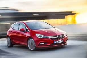 The Opel 2016 Opel Astra Leaked Before Frankfurt Auto Show