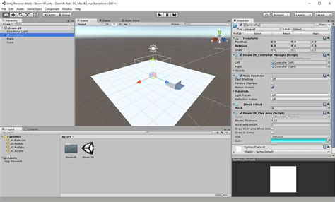 unity editor tutorial c unity with openvr for vive and oculus via steamvr austin
