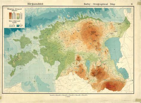 map of estonia national atlas for estonia s 100th anniversary ut