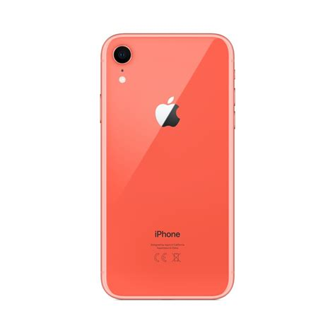 iphone xr 128gb coral iphone xr iphone apple electronics accessories megastore
