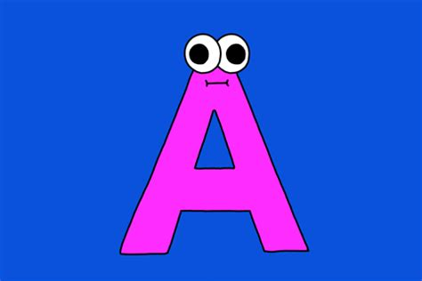 lettere animate alphabet gif by giphy studios originals find on