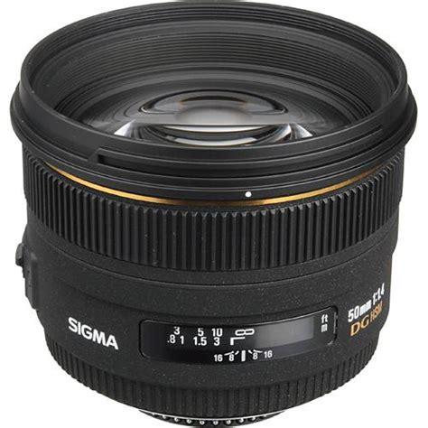 Sigma 50mm F14 Dg Hsm A For Canon Sigma Normal 50mm F14 Ex Dg Hsm Autofocus Lens For Canon
