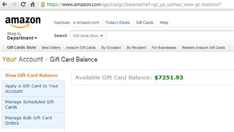 Checking Balance On Amazon Gift Card - amazon gift card balance adder verification code