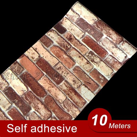 wallpaper self adhesive aliexpress com buy 10m vinyl self adhesive wallpaper pvc