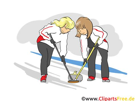 curling game sport royalty free cartoon cartoondealer curling sport cartoon clipart clipart suggest