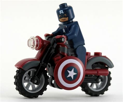 Mainan Lego Heroes Motorcycle lego heroes 6865 captain america s avenging cycle i brick city