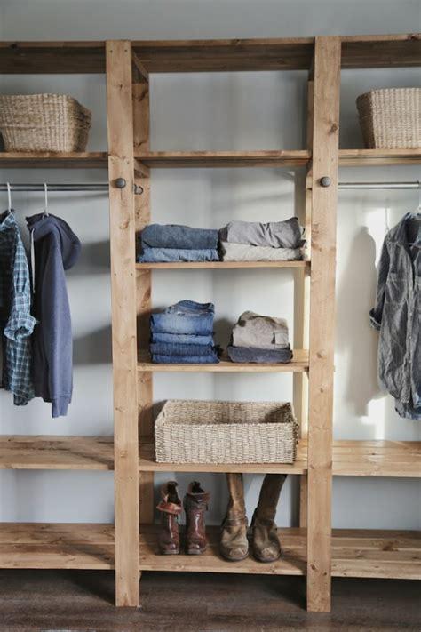 diy industrial style wood slat diy industrial style wood slat closet system with