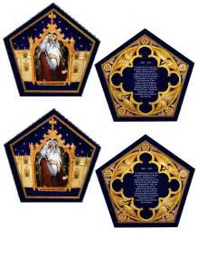 the empty suitcase chocolate frog cards