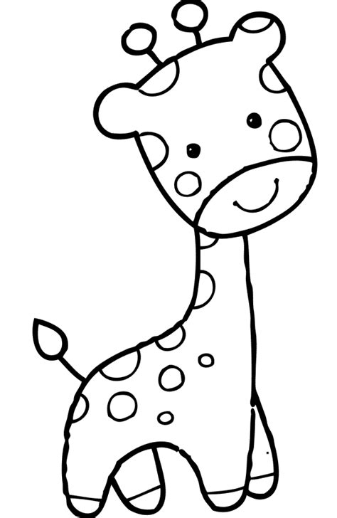 coloring pages of cartoon giraffes giraffe with funny face coloring pages for kids dcs