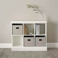 white classic 6 cube storage unit goodglance