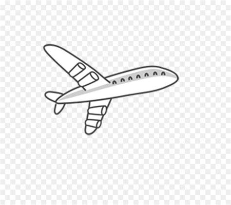 gambar pesawat kartun hitam putih gambar kartun