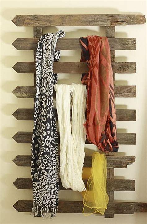 creative scarf storage display ideas hative