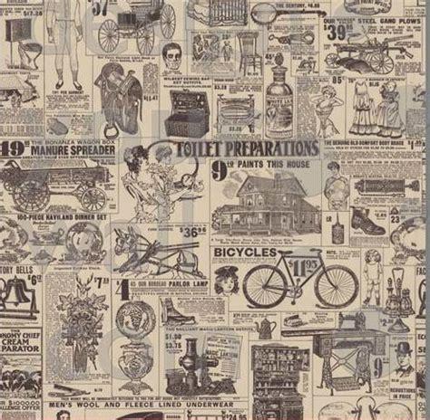 newspaper pattern vintage newspaper digital print ads pattern design lab