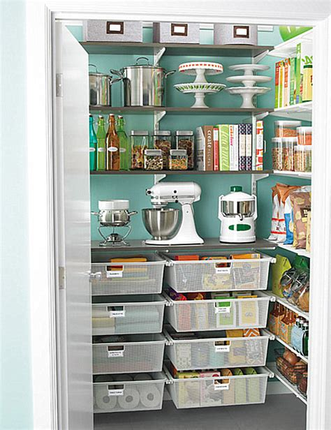 Kitchen Storage Ideas | pantry design ideas for staying organized in style