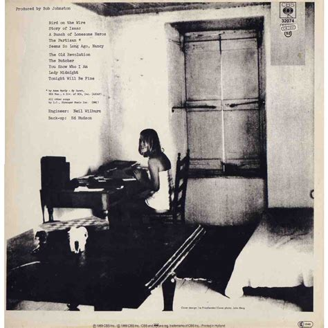 songs from a room songs from a room by leonard cohen lp with grigo ref 114834879