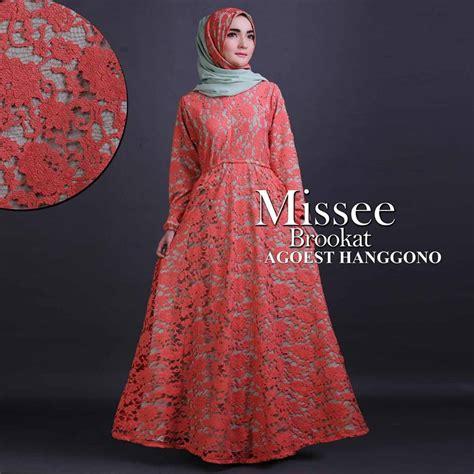 Gamis Muslim Caline Dress missee baju muslim gamis modern