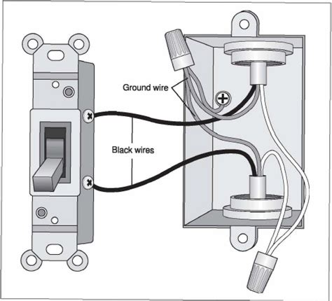 installing a light switch installing light switch two black wires efcaviation com