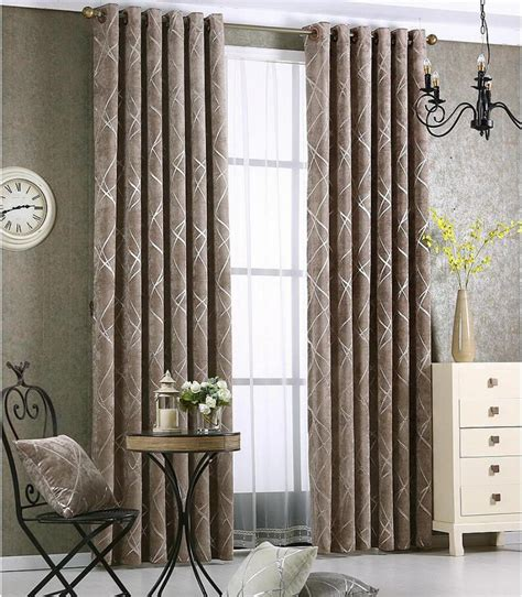 curtains custom newchenille blinds jacquard fabric curtain for livingroom