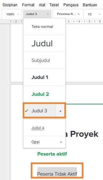 cara membuat format daftar isi otomatis cara membuat daftar isi otomatis di google docs dailysocial