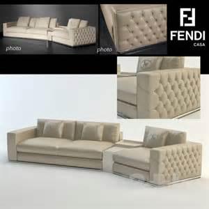 3d models sofa plaza sofa fendi casa