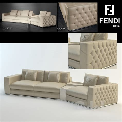 fendi sofa 3d models sofa plaza sofa fendi casa