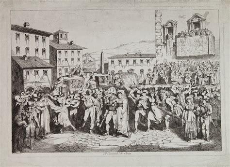 asta di roma bartolomeo pinelli roma 1781 1835 il carnevale di