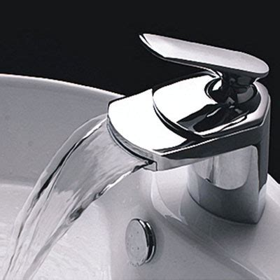 Light In The Box Faucet Reviews by Single Handle Waterfall Bathroom Vanity
