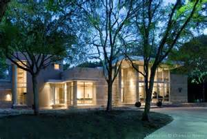 dallas contemporary homes architect steve chambers designed modern estate home