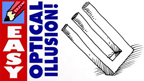 how to make 3d illusion optical illusions drawings simple www pixshark com
