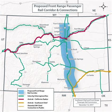 map of colorado front range colorado service from to fort collins