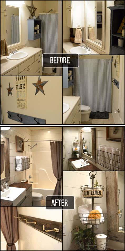 diy bathroom remodel before and after 33 inspirational small bathroom remodel before and after