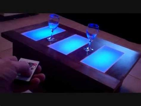 coffee tables with led lights coffee table led lights modern furniture