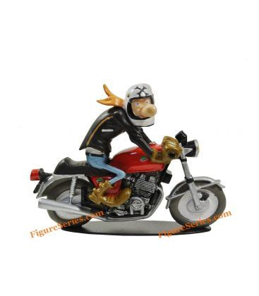 Triumph Motorrad Miniatur by Miniatur Figur Kunstharz Joe Bar Team Laverda 1000