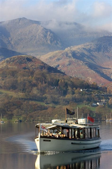 fishing boat hire coniston boat trips in the lake district blenheim lodge