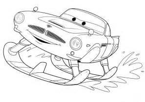 cars 2 coloring pages free coloring pages of finn mcmissile