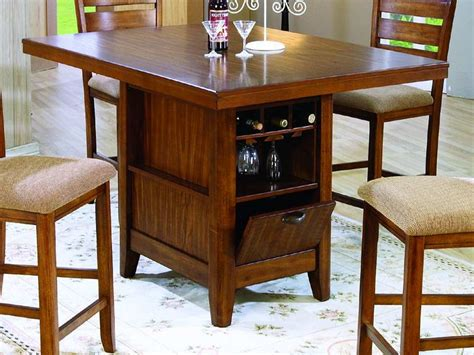 Storage Kitchen Table by Kitchen Counter Height Kitchen Tables With Storage