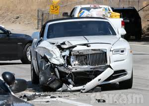 new car collision kris jenner car crash photos from the updates from